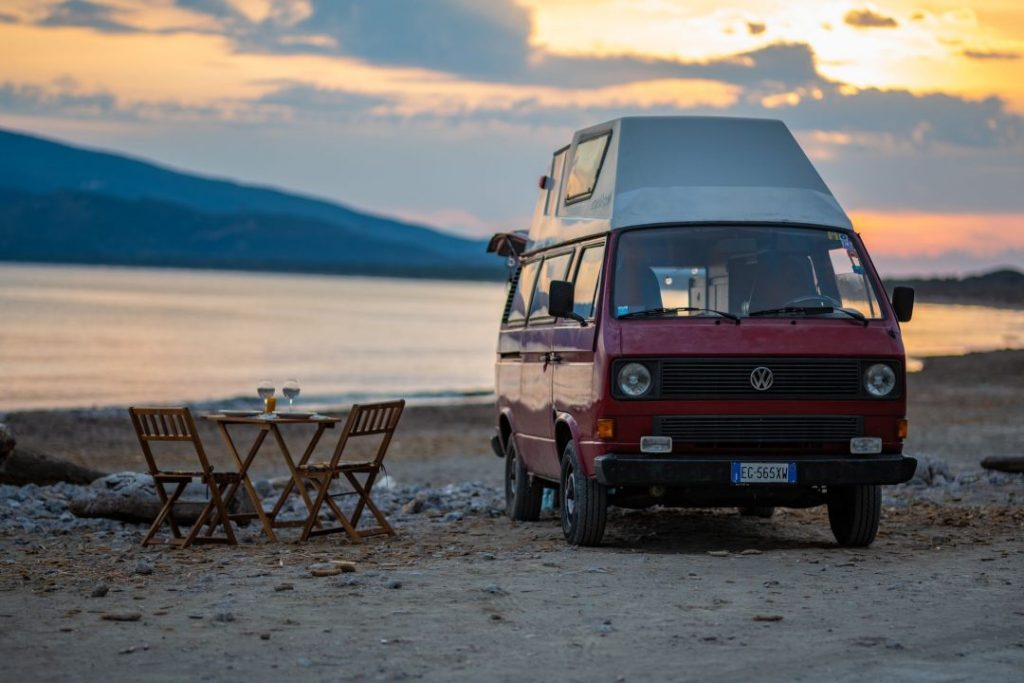 Uno dei caravan vintage di Maremma on the road