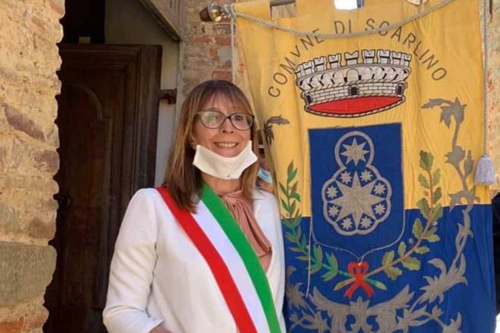 La sindaca di Scarlino, Francesca Travison